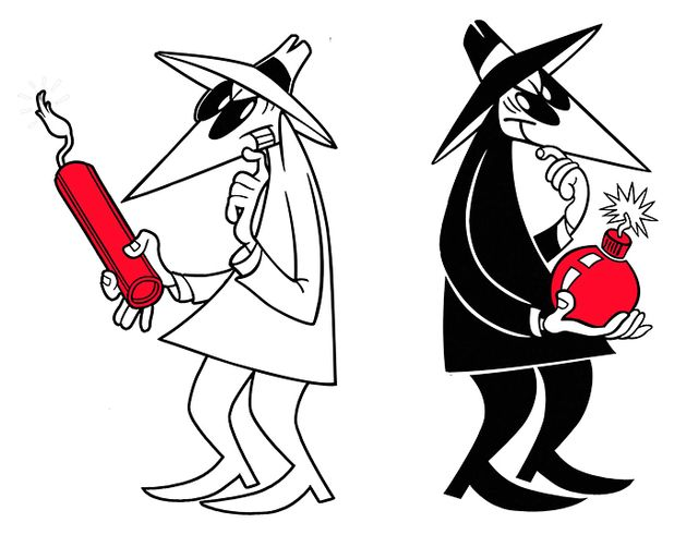 Spy vs. Spy Halloween costume.
