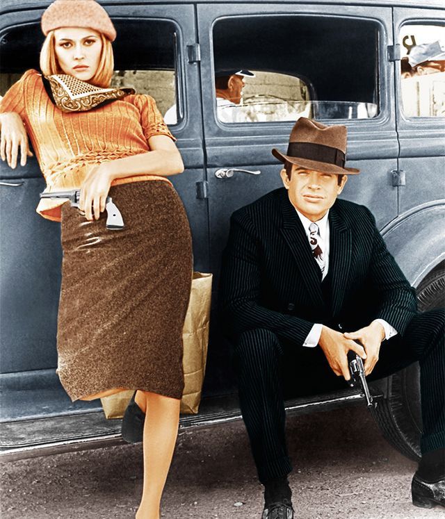 Bonnie & Clyde Halloween costumes.