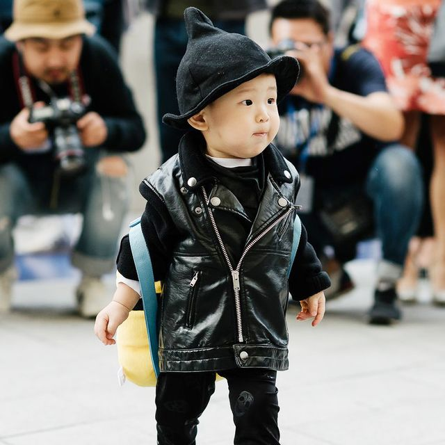 The Stylish Kids of Seoul Fashion Week Are the Cutest Thing Ever