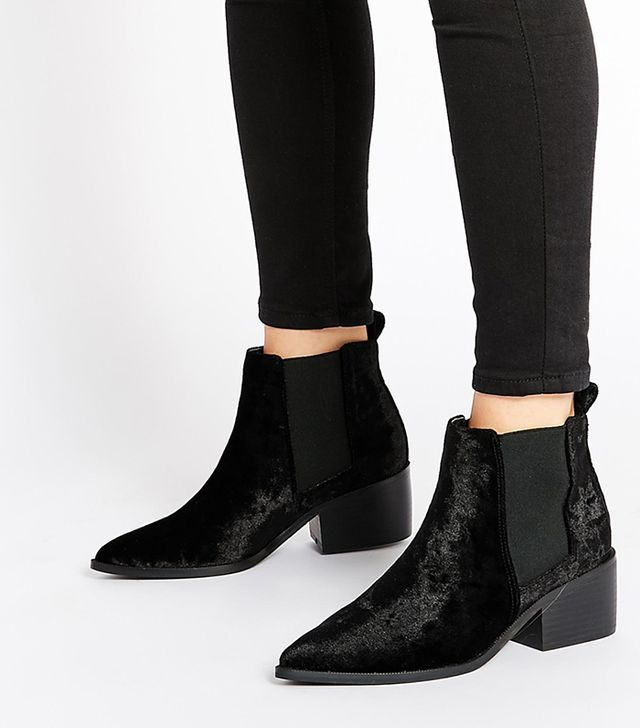 ASOS Right About Now Western Pointed Boots