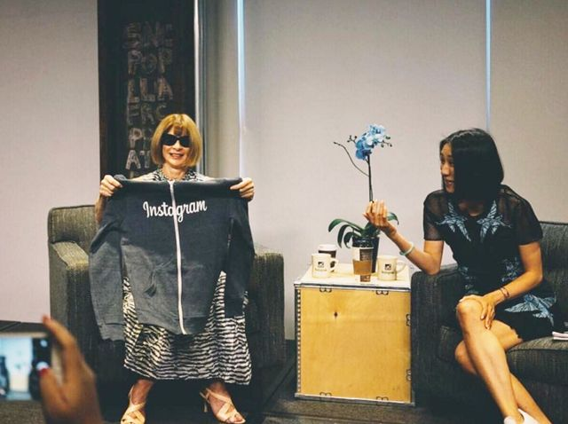 Anna Wintour Says She's Never Worn a Hoodie, Naturally