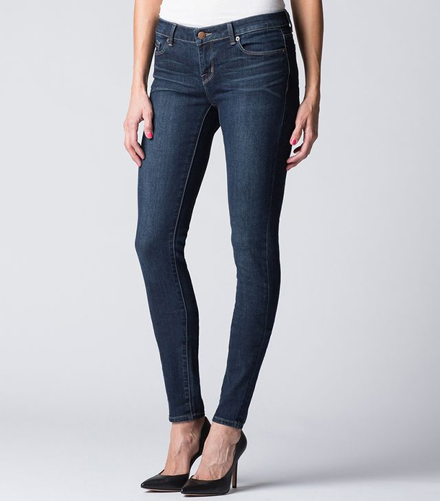 DSTLD Low Rise Skinny Jeans in Dusk