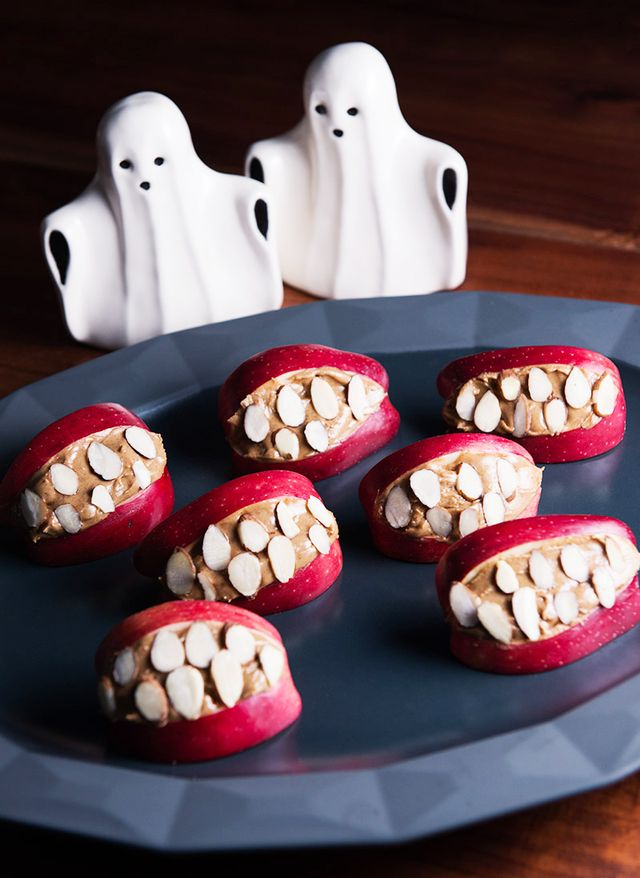 Halloween Apple Mouths