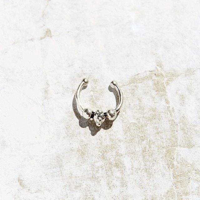 Urban Outfitters Simple Septum Faux Nose Ring