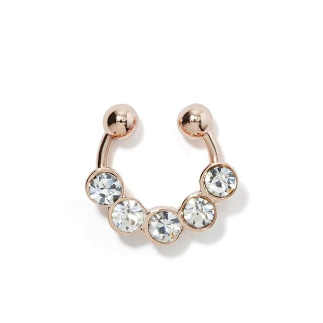 Nasty Gal Gold as Ice Ear/Septum Cuff