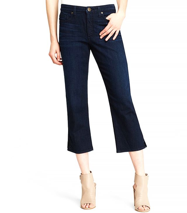 Spanx Capri Jeans in Dark Dipped