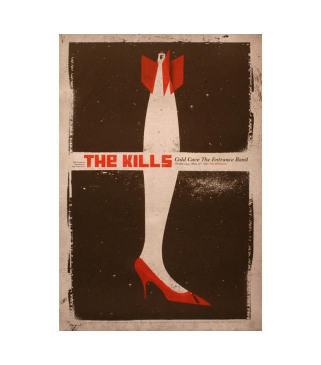 Brad Kayal The Kills Poster