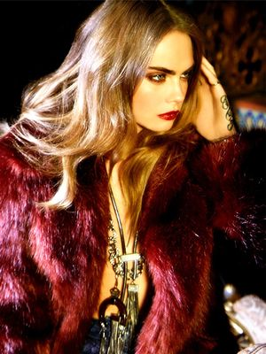 Cara Delevingne Is the Ultimate '70s Babe in Her New Campaign