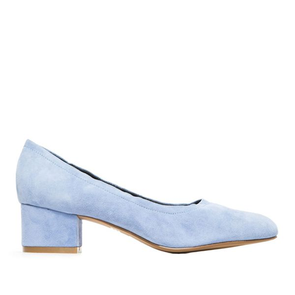Jeffrey Campbell Bitsie Heels in Blue Suede