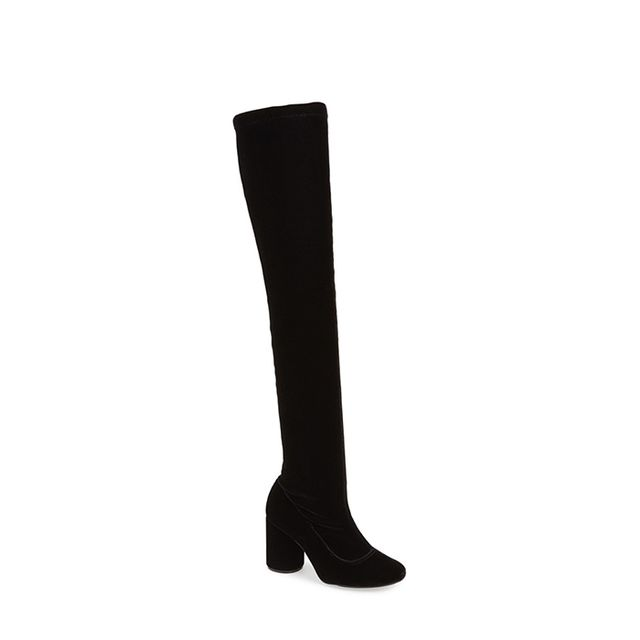 Topshop 'Private' Over the Knee Boot
