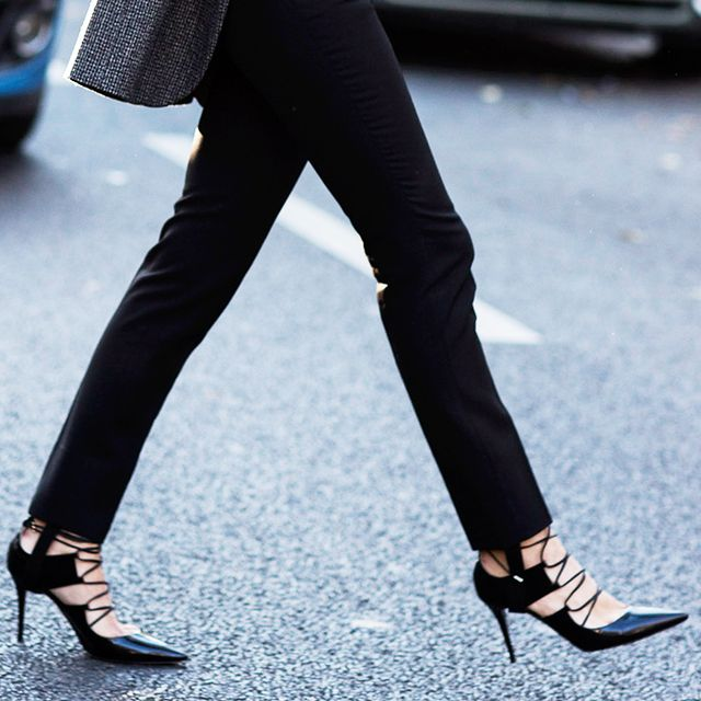 An At-Home Trick to Walk in Heels Without Pain
