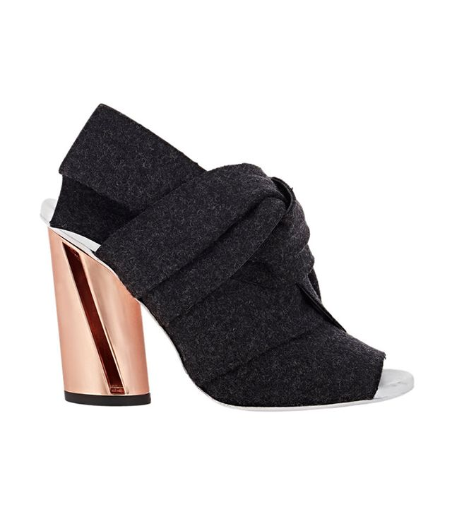 Proenza Schouler Knotted Bow Mules