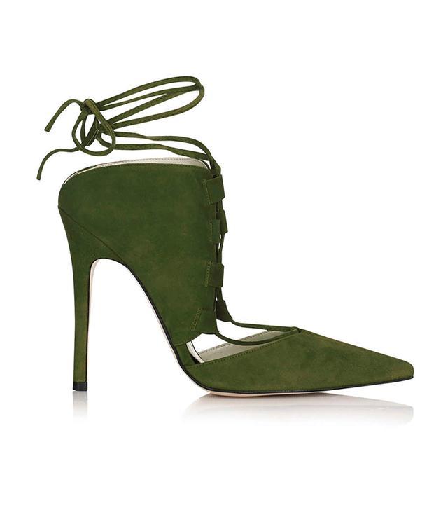 Topshop Gillian Ghillie Court Shoes