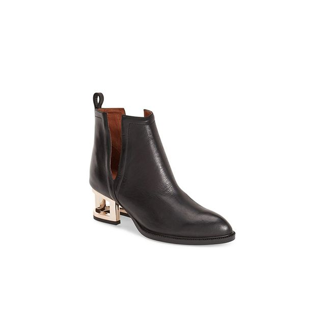 Jeffrey Campbell Musk Cage Heel Ankle Boot