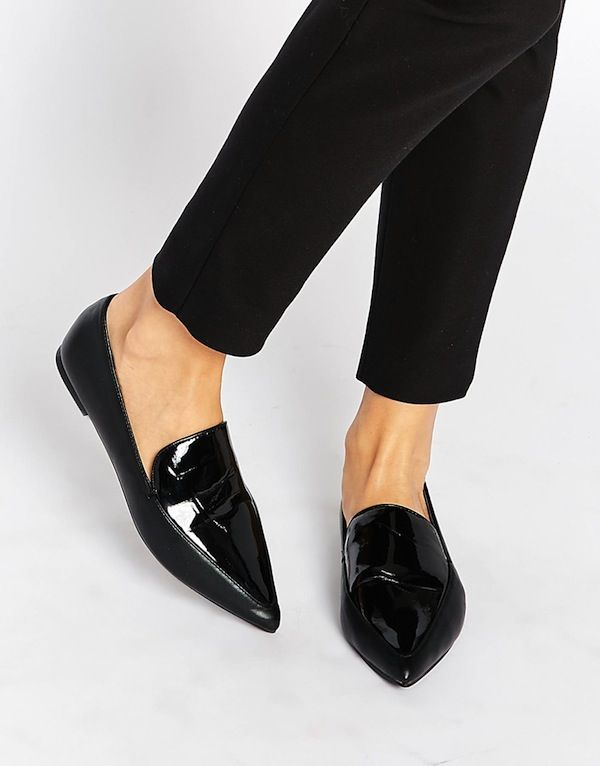 ASOS MIMI Pointed Flat Shoes