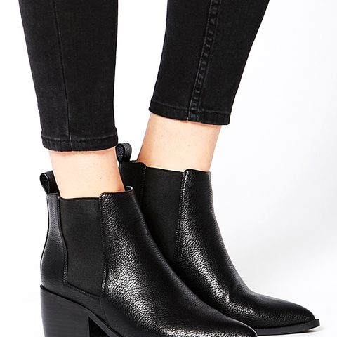 Right About Now Western Pointed Chelsea Ankle Boots