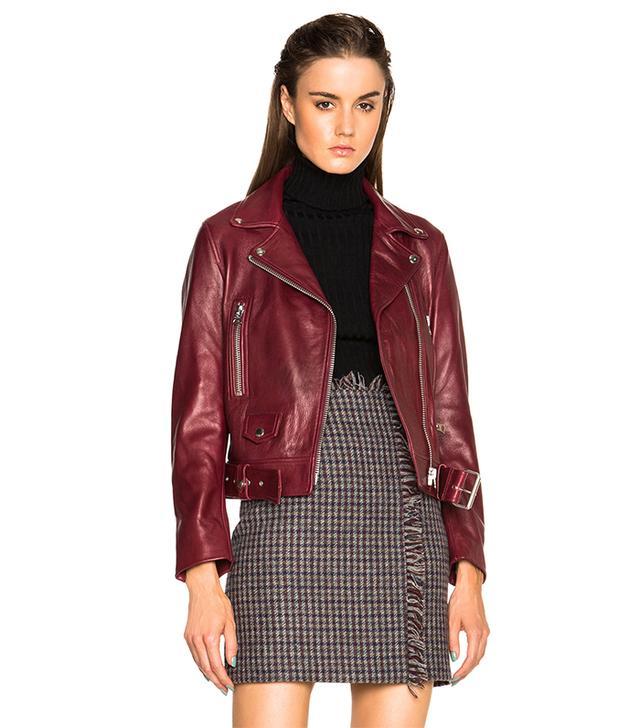 Acne Studio Mock Leather Jacket