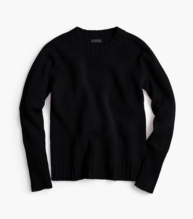 J.Crew Collection Cashmere Saddle Sweater