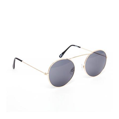 High Bar Round Sunglasses