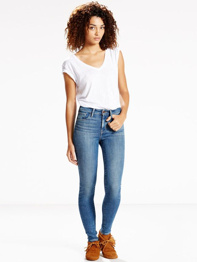 Levi's x Jean Stories 721 High Rise Skinny