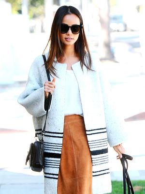 Jamie Chung Walks Her Dog, Looks Chic as Ever