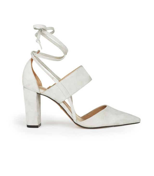 Whistles Azar Ankle Tie Point Shoes