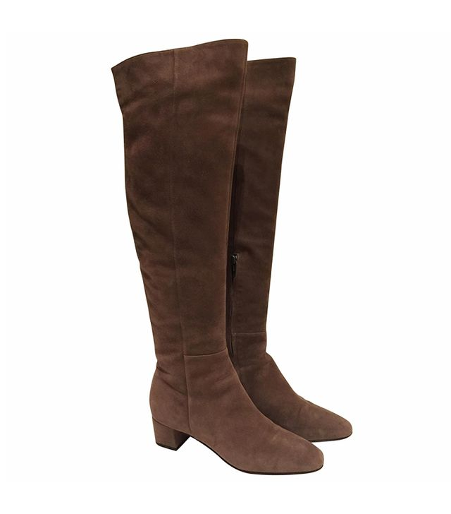 Gianvito Rossi Mid Heel Over the Knee Boots
