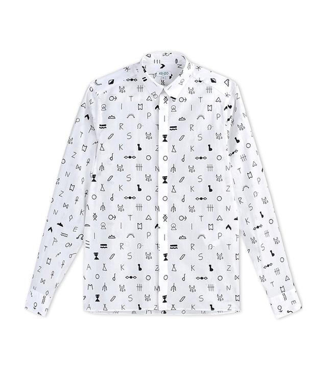 Kenzo Cotton Symbol Blouse