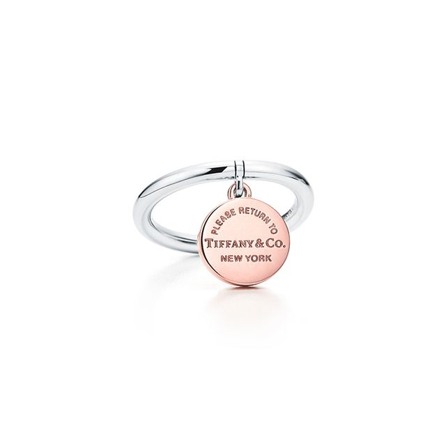 Tiffany & Co. Circle Tag Ring