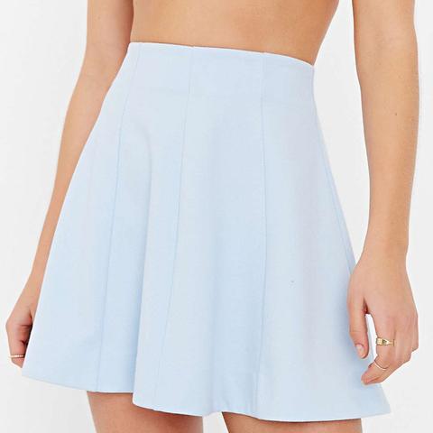 Flirt With Me Seamed Skirt