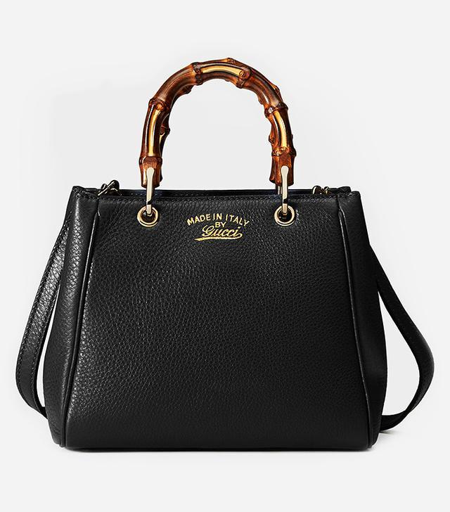 Gucci Bamboo Leather Mini Bag