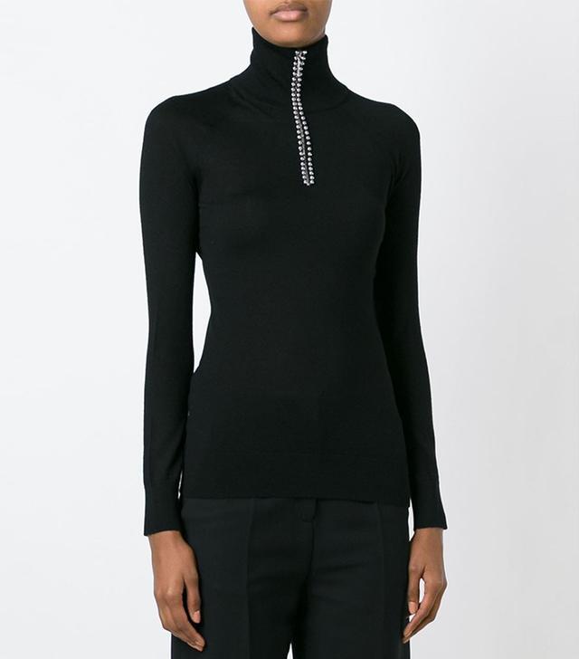Alexander Wang Ball Chain Trim Sweater