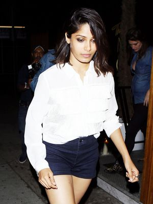 Freida Pinto's Birthday Outfit Is Unexpected and Amazing