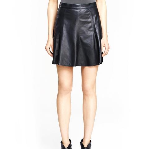 Suki Leather Skirt