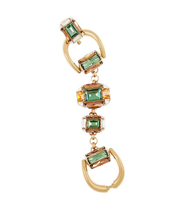 Gucci Swarovski Horsebit Bracelet
