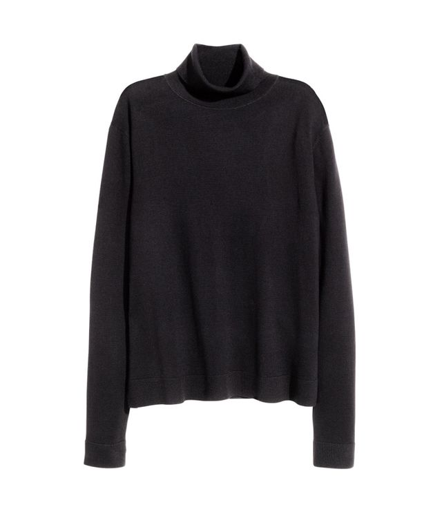 H&M Merino Wool Turtleneck Sweater