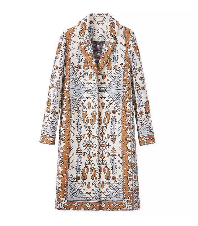 Tory Burch Jacquard Coat