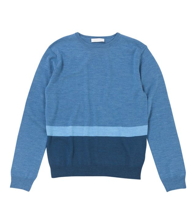 Richard Nicoll Blue Wool Knit