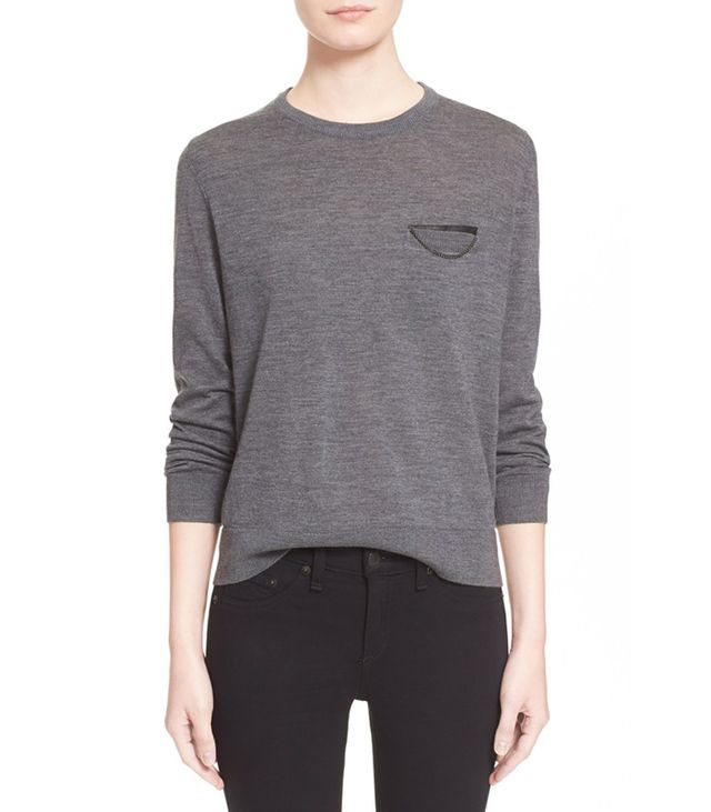 The Kooples Merino Wool Sweater