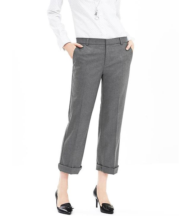 Banana Republic Roll-Up Cropped Pants