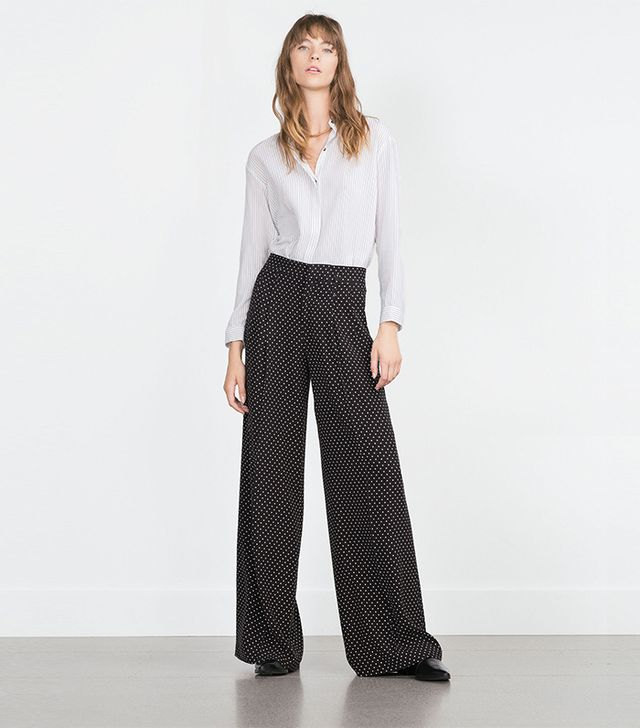 Zara Polka Dot Trousers