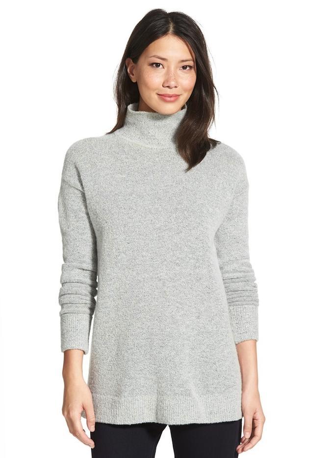 Halogen Mock Turtleneck Sweater