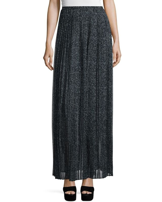 Michael Kors Collection Pleated Maxi Skirt