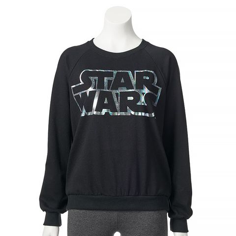 Star Wars Splatter Foil Logo Sweatshirt
