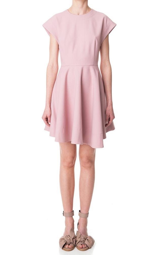 Tibi Anson Stretch Sleeveless Dress