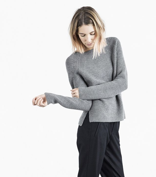 Everlane The Chunky Wool Wide Crew Neck