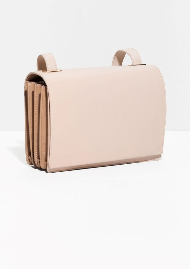 & Other Stories Pleated Shoulder Bag