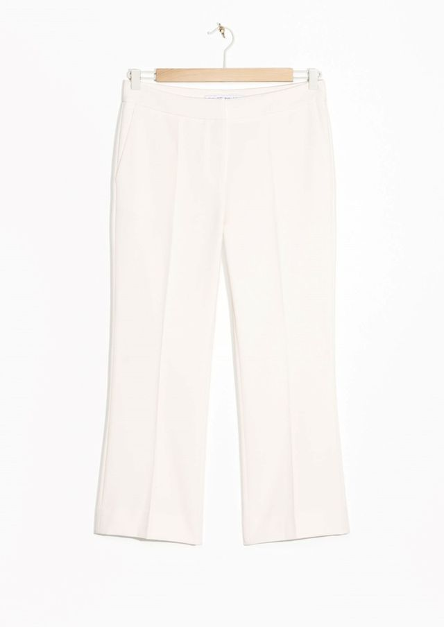 & Other Stories Flare Leg Trousers