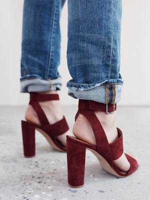 #TuesdayShoesday: 5 Chunky Heels for Fall
