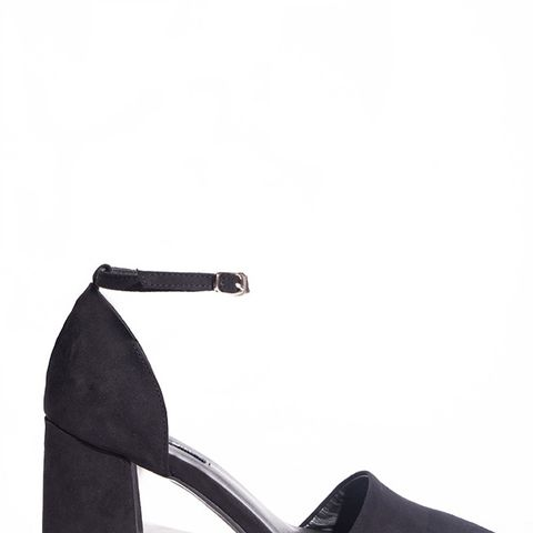 Ankle Strap Medium Heel Shoes